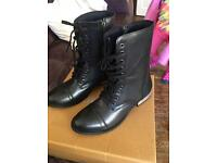 Barratts leather boots size 6