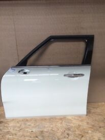 Complete Door Front Left Near Side Mini F54 Clubman 850 Pepper White