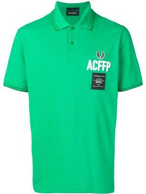 FRED PERRY X ART COMES FIRST EMBROIDERED GREEN NWT SIZE 40