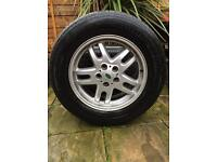 "Range Rover 18"" alloys with good tyres"