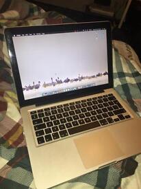 MacBook Pro mid 2012 - 13inch - 16gb ram. 500gb ssd and 500gb hdd