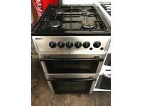 Beko stainless steel gas cooker 50 cm