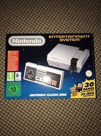 Nintendo Classic Mini console brand new in box still sealed low price today only!!!