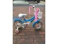 "Raleigh Rosina girls 12"" bike"