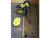 Dunlop childs golf set