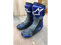 Alpinestars svx motorcycle boots