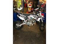 Demon x xlr2 140cc stomp crf70 pit bike 2016 mint condition