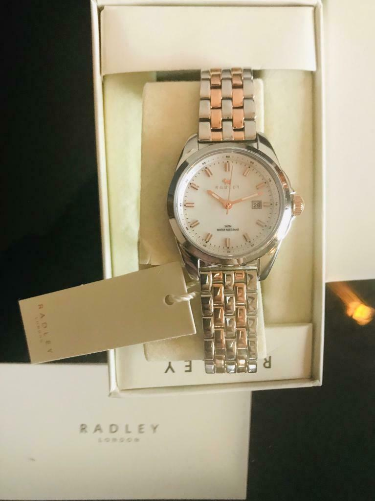 Radley Genuine Dual tone watch New   in Cardiff Bay, Cardiff   Gumtree 2530014584