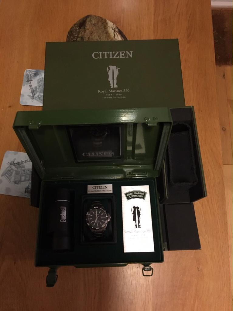 Citizen Limited Edition Royal Marine watch