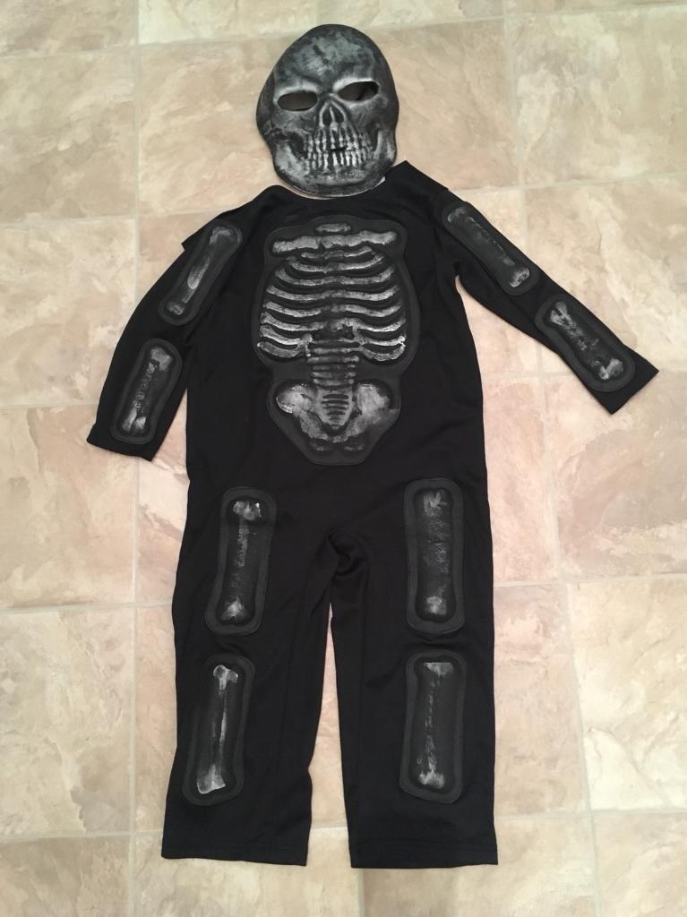 Halloween Skeleton Costume Kids.Kids Halloween Skeleton Costume In Wokingham Berkshire Gumtree