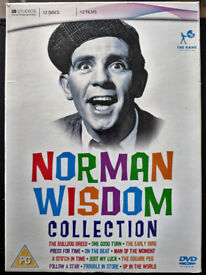 Norman Wisdom DVD Movie Collection