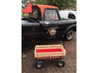 Radio Flyer Type Festival Trolley All Terrain Camping Glamping Auto Jumble Car Boot Man Cave AS NEW