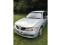 Nissan Almera 2001 - low mileage 74k