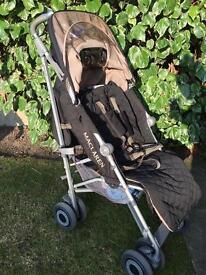 Maclaren push chair / buggie / pram and car seat