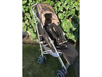 Maclaren push chair / buggie / pram and car seat