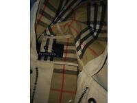 6 month in 4-size original burberry jacket
