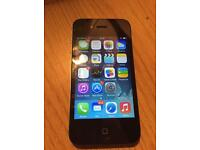 iPhone 4 Black Unlocked and in perfect condition