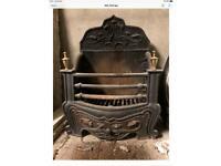 Fireplace, Fire basket, grate