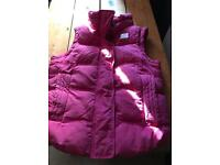 Ladies Pink Gilet Superdry Size XS