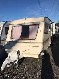 abbey stafford 5 berth caravan 1993 with all extras needed.