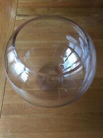 Glass fish bowls