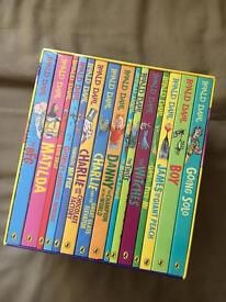 x15 Roald Dahl books