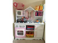Toy kitchen with all accessories ** only £60