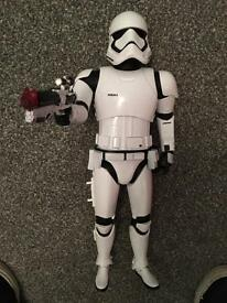 Storm trooper electronic toy from Disney store star wars