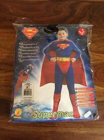 BNWT - Super man costume / outfit age 8