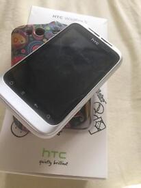 HTC Wildfire S - unlocked White