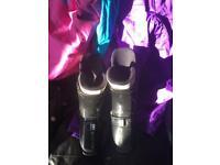 Schoffel gore Rex race suit size 14 with ski boots sx72 -330