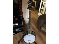 Ozark 2112 G 5 string Banjo (new)