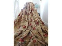 Beautiful Pair of Very Large Laura Ashley Vintage Curtains