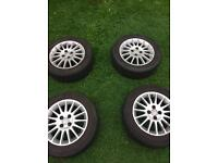 4Honda Civic Alloy Wheels with Tyres