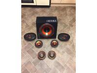 Edge Street Speaker Set £100 o.n.o