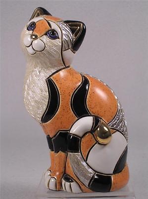 DeRosa Rinconada Family Collection NEW 'Calico Cat' #F158 New In Box