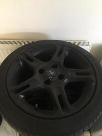 Ford fiesta zetec s alloys x4 could do with a touch up