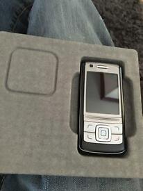 Nokia 6280 slide mobile phone boxed like new orange