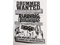 Drummer wanted for Bristol pop punk band