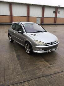 Peugeot 206 quicksilver cheap car £300