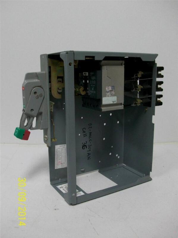 "Square D Model 6 MCC Feeder Bucket 6"" 50A GJL36050"