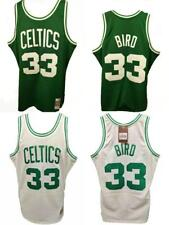 Men/'s Boston Celtics Larry Bird Retro Basketball jersey Green S-M-L STOCK ##