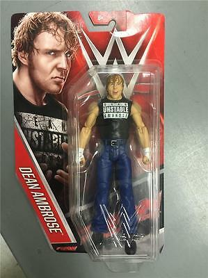 DEAN AMBROSE BASIC 61 WWE MATTEL ACTION FIGURE TOY (BRAND NEW) - IN STOCK- MINT