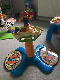 Stand and sit baby toy