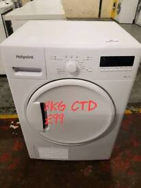 Hotpoint 8kg condenser dryer free delivery in Coventry