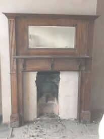 Free to good home! Lovely circa 1930's style fire surround