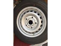 FORD TRANSIT CUSTOM BRAND NEW CONTINENTAL TYRE 215 65 16 VANCO 2 on a BRAND NEW WHEEL TOO