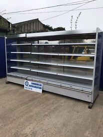 2015 12ft 3.78m Low Fronted Display Fridge Chiller Multideck Dairy Meat Drinks