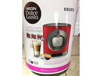 Krups coffee pod machine (in box)