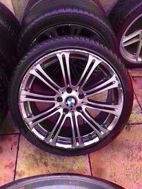 "Bmw m3 mv2 19"" silver alloy wheel Can Post"